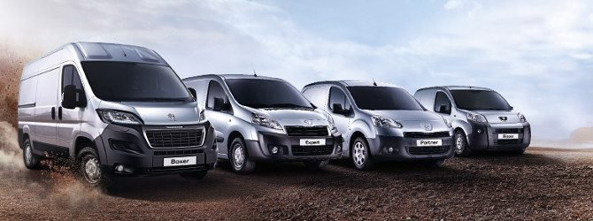 Gamma veicoli commerciali Peugeot